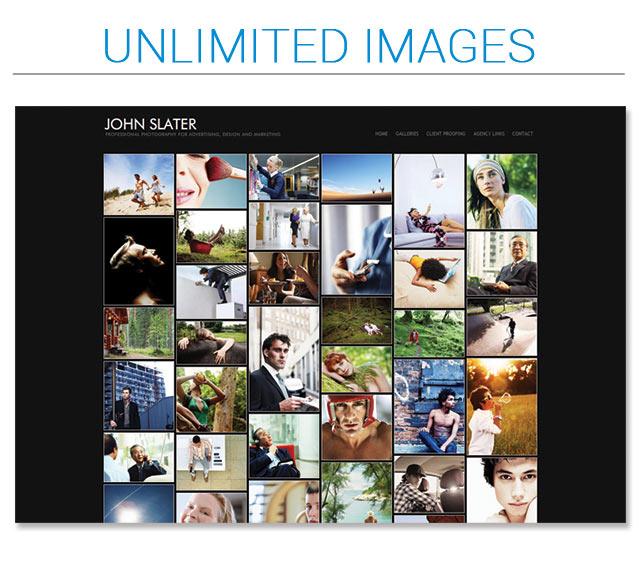 mosaic portfolio page