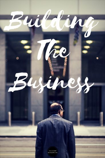 Sales: Building the business