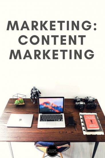 Marketing: Content Marketing