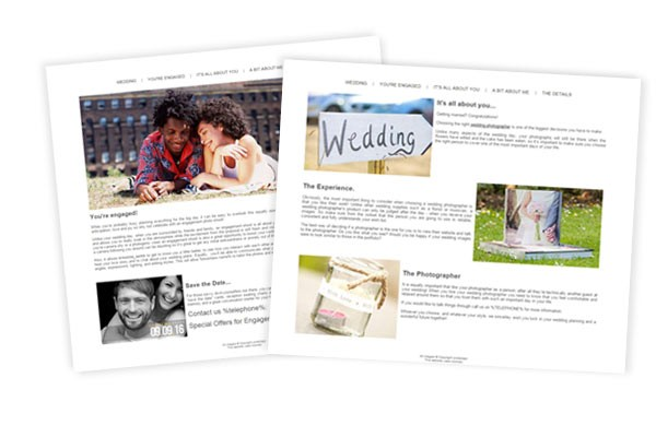wedding-pagesets