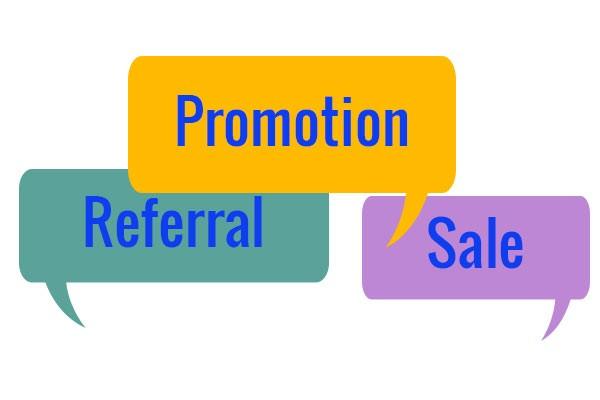 Sales promotions!