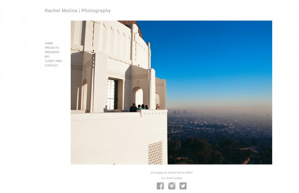 Featured Website: Rachel Molina Photography | blog.theimagefile.com