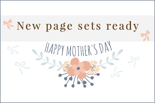 NEW Mother's Day Page Set!