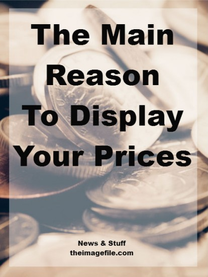 The Main Reason To Display Your Prices