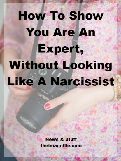 How To Show You Are An Expert, Without Looking Like A Narcissist