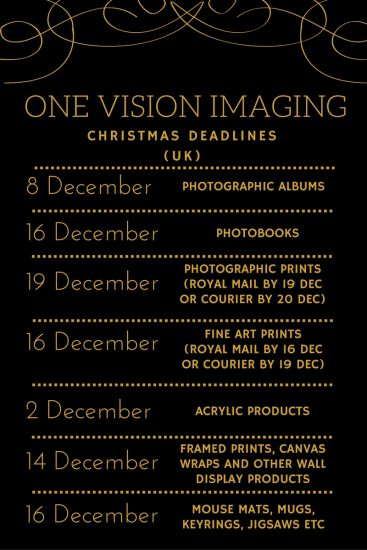 one-vision-christmas-deadlines