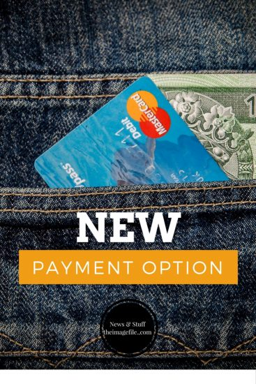 New Payment Option Feature!