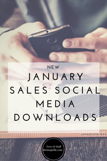 NEW January Sales Social Media Downloads
