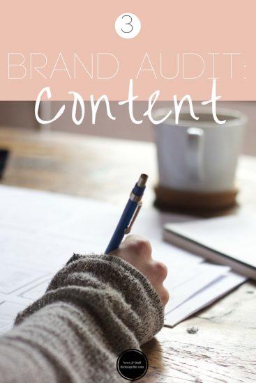 Brand Audit: Content