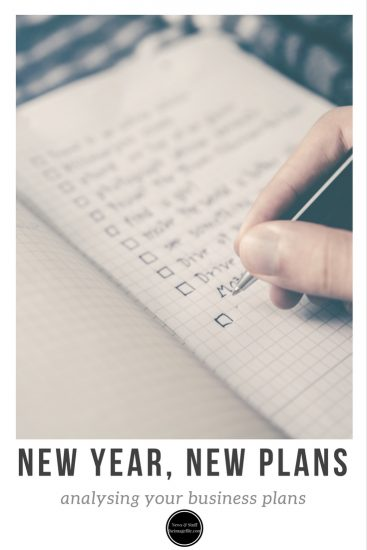New year, new plans