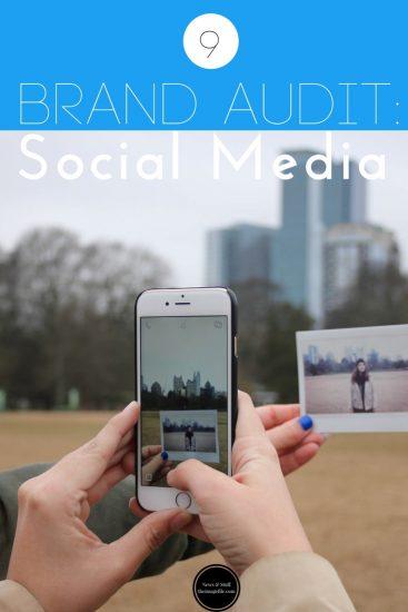 Brand Audit: Social Media