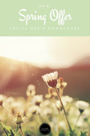 Spring Offer Social Media Downloads!