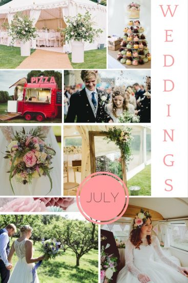 Moodboard: July Weddings