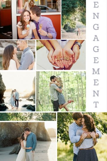 Moodboard: July Engagements