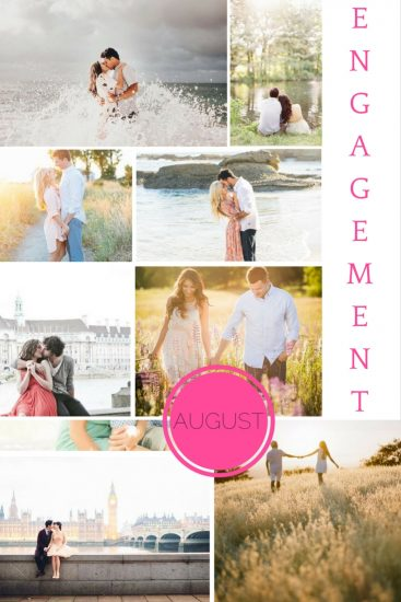 Moodboard: August Engagements