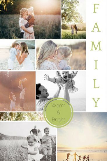Moodboard: August Family