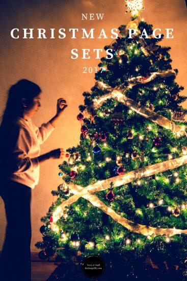 Christmas Page Sets 2017!