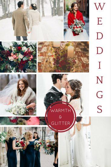 Moodboard: December Weddings