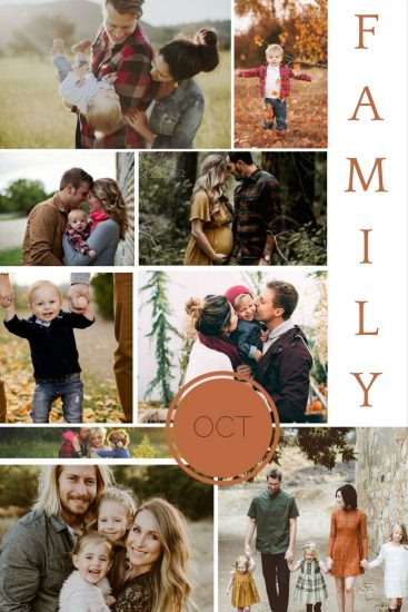 Moodboard: October Family