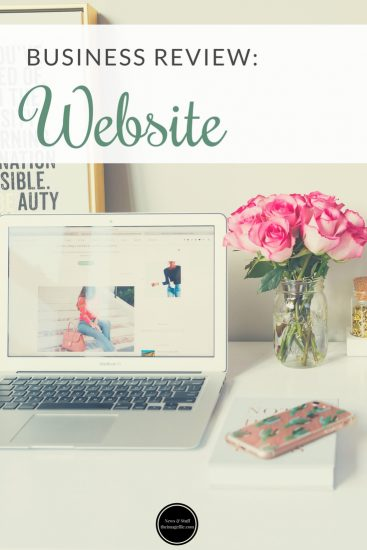 Business Review: Website