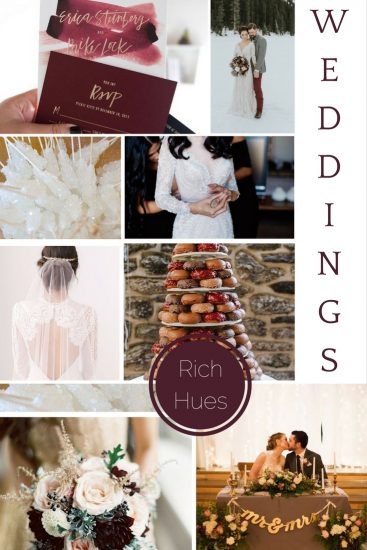 Moodboard: January Weddings