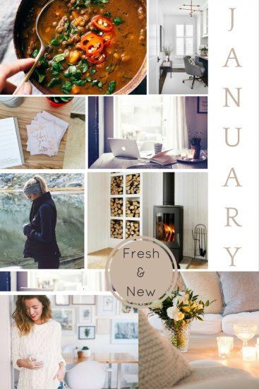 Moodboard: January