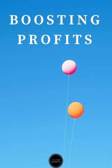 Boosting profits