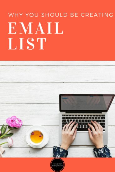 Why You Should Be Creating An Email List