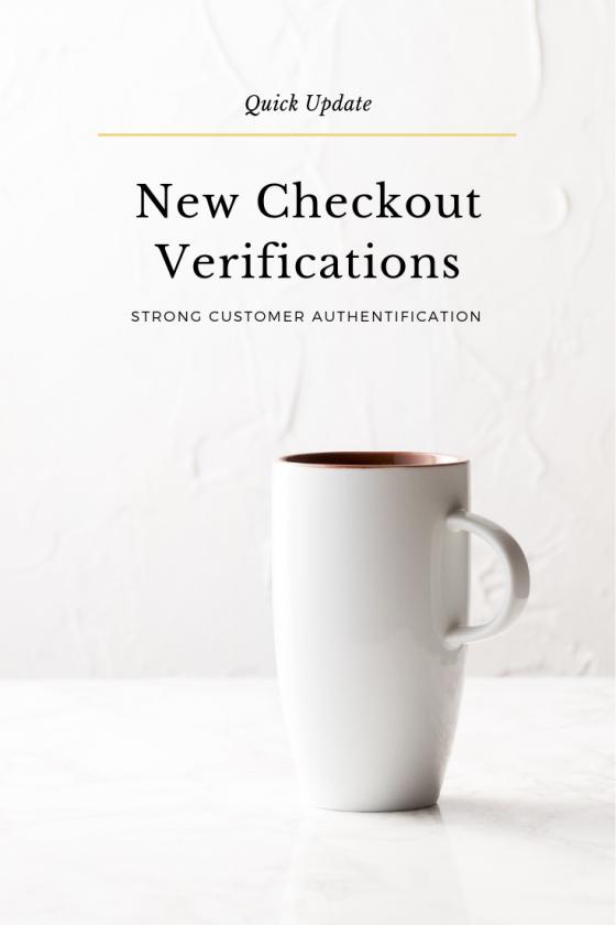 New Checkout Verifications