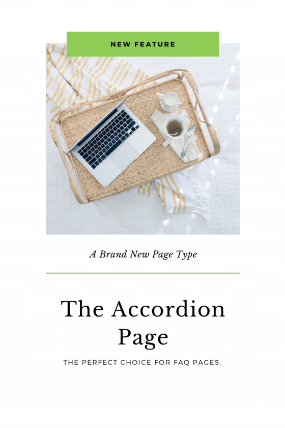 The New Accordion Page