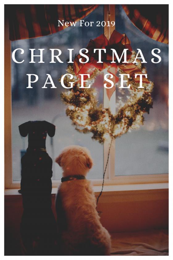 Christmas Page Set 2019