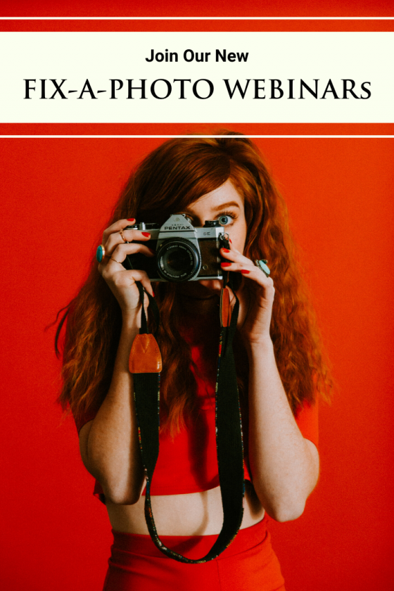 Fix-a-Photo Webinars   Theimagefile & Gavin Hoey