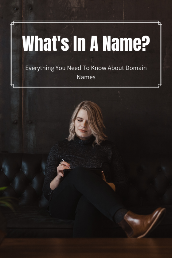 What's in a photographer's domain name?