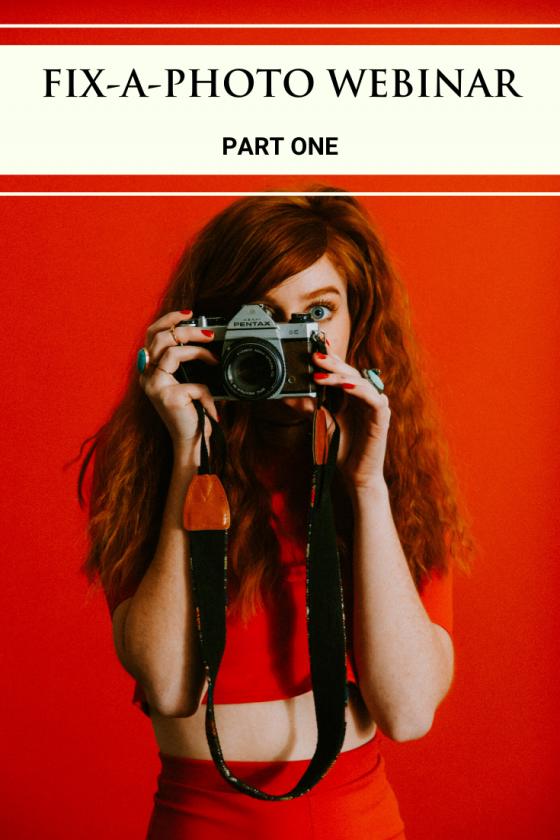 Fix-a-photo Webinar   Theimagefile & Gavin Hoey   Part One