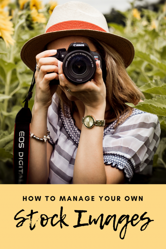 Manage Your Own Stock Images