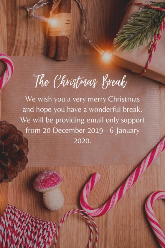 The Christmas Break!