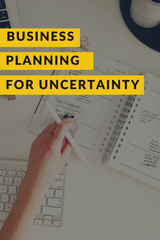 Business planning for uncertainty