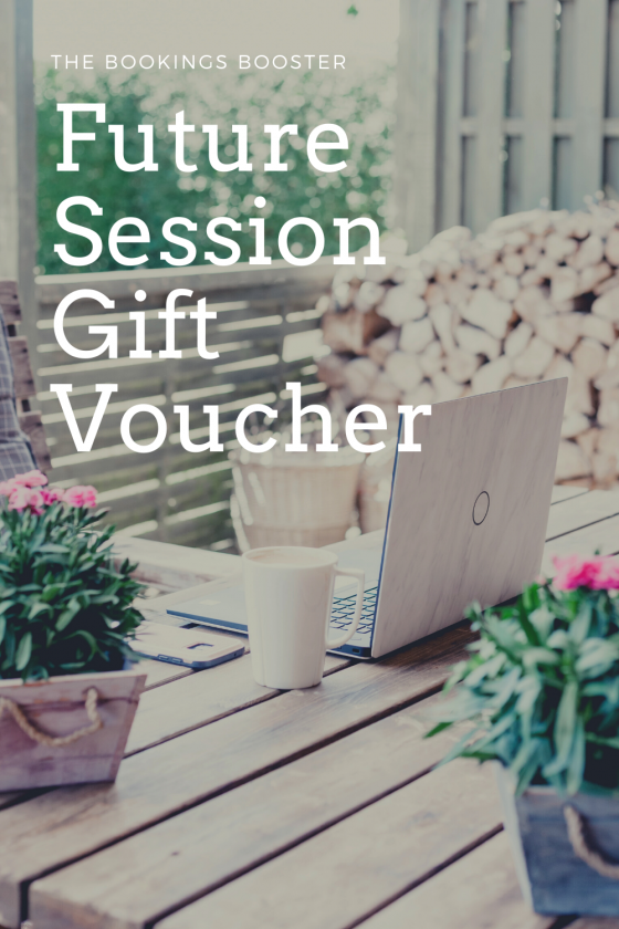Future Session Gift Vouchers | The Bookings Booster