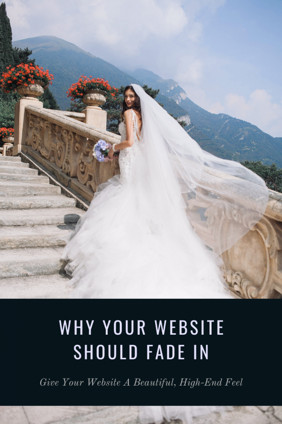 Website Fade-In | The One Reason You Need It Right Now