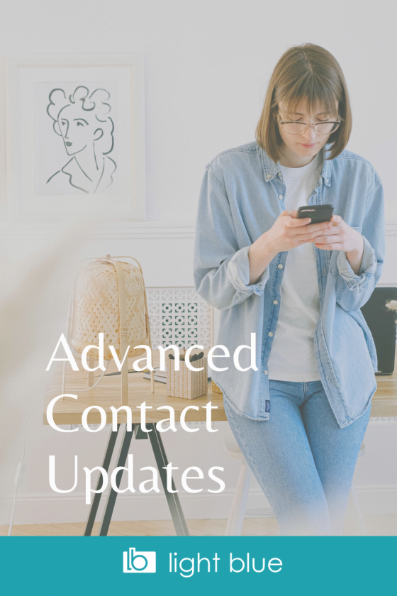 Advanced Contact Page Updates | Especially For LightBlue Users