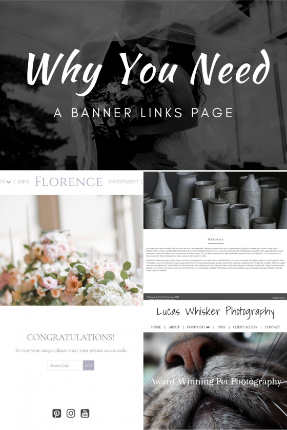 Why You Need A Banner Links Page