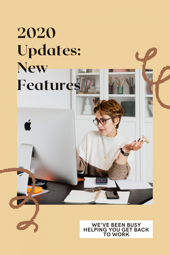 2020 Updates: New Features